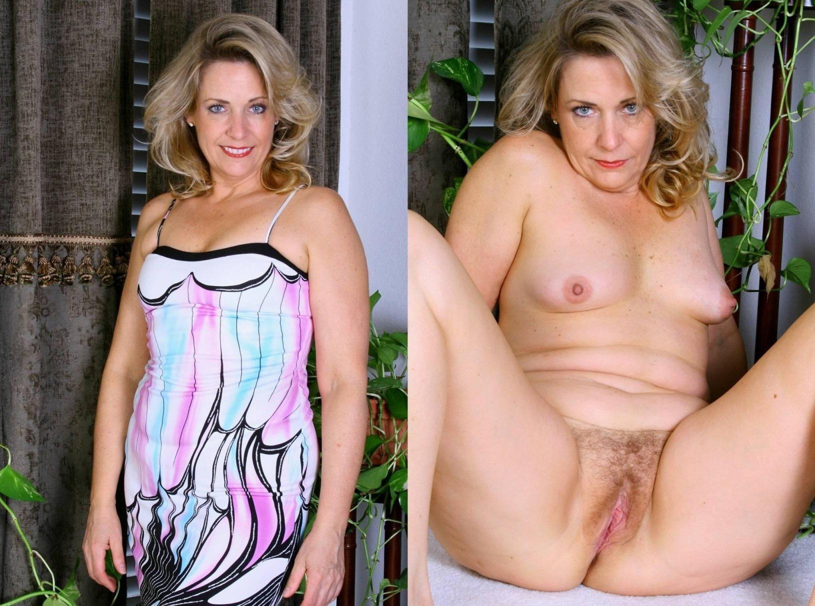Mature Women Undressed